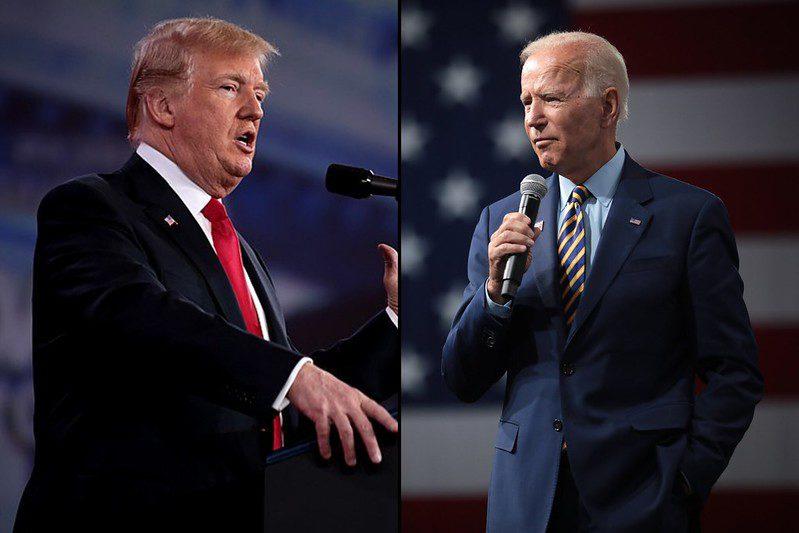 Trump and Biden 2020 US election polls