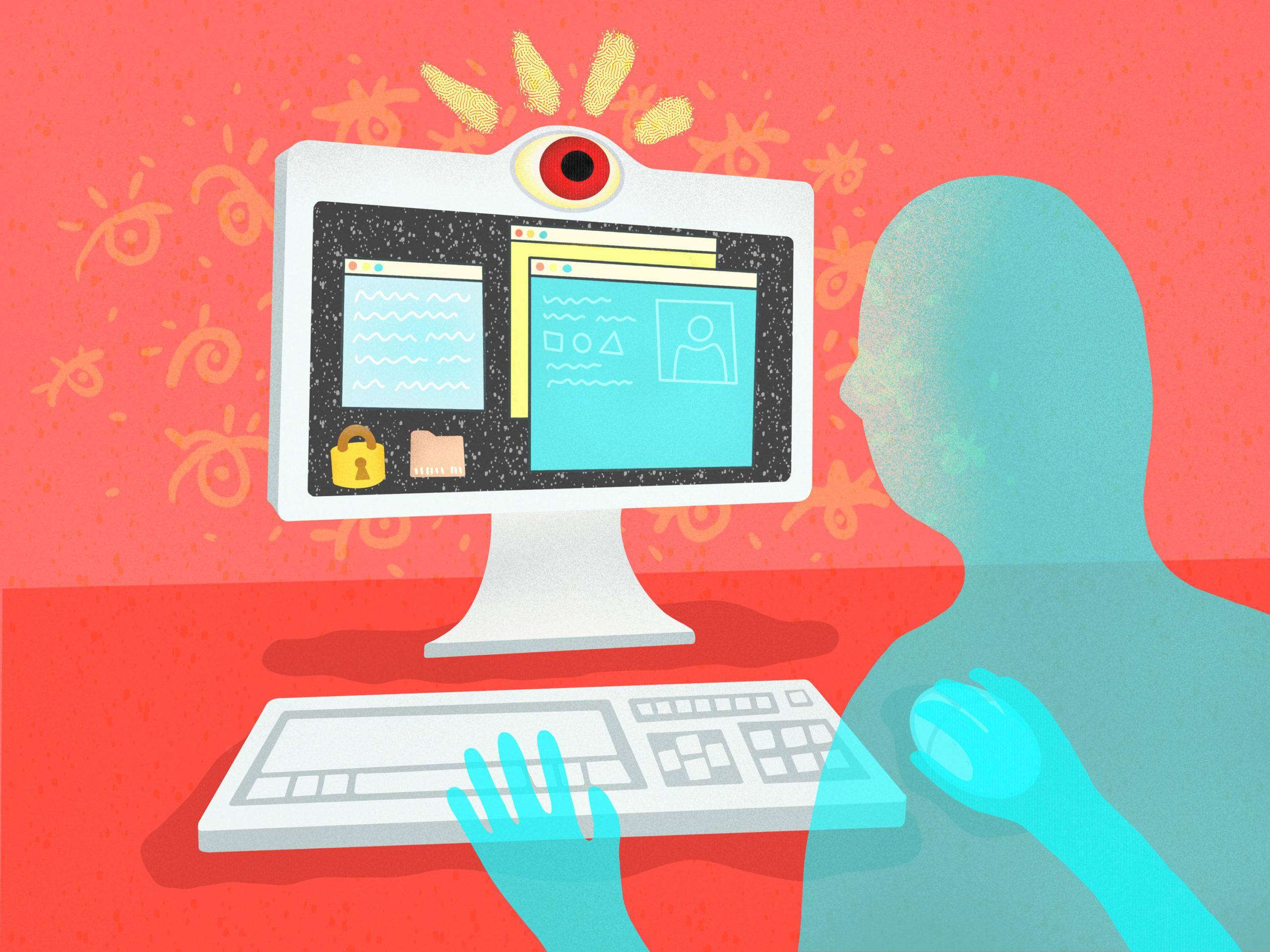 Virtual exam using Respondus proctoring software