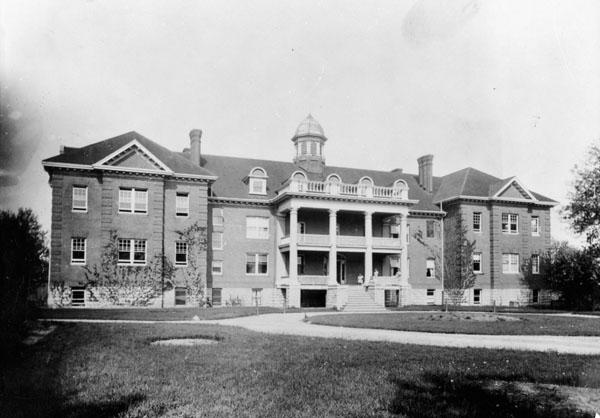 Residential school building in Brantford, Ontario