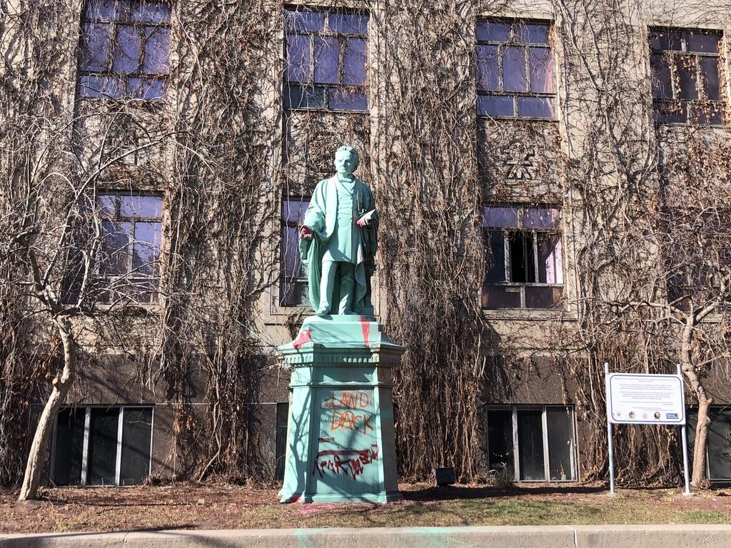 Statue of Egerton Ryerson